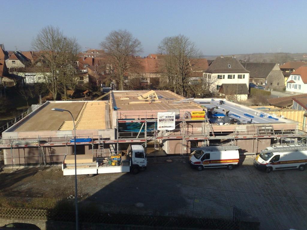 Baustelle Kiga Volkach b