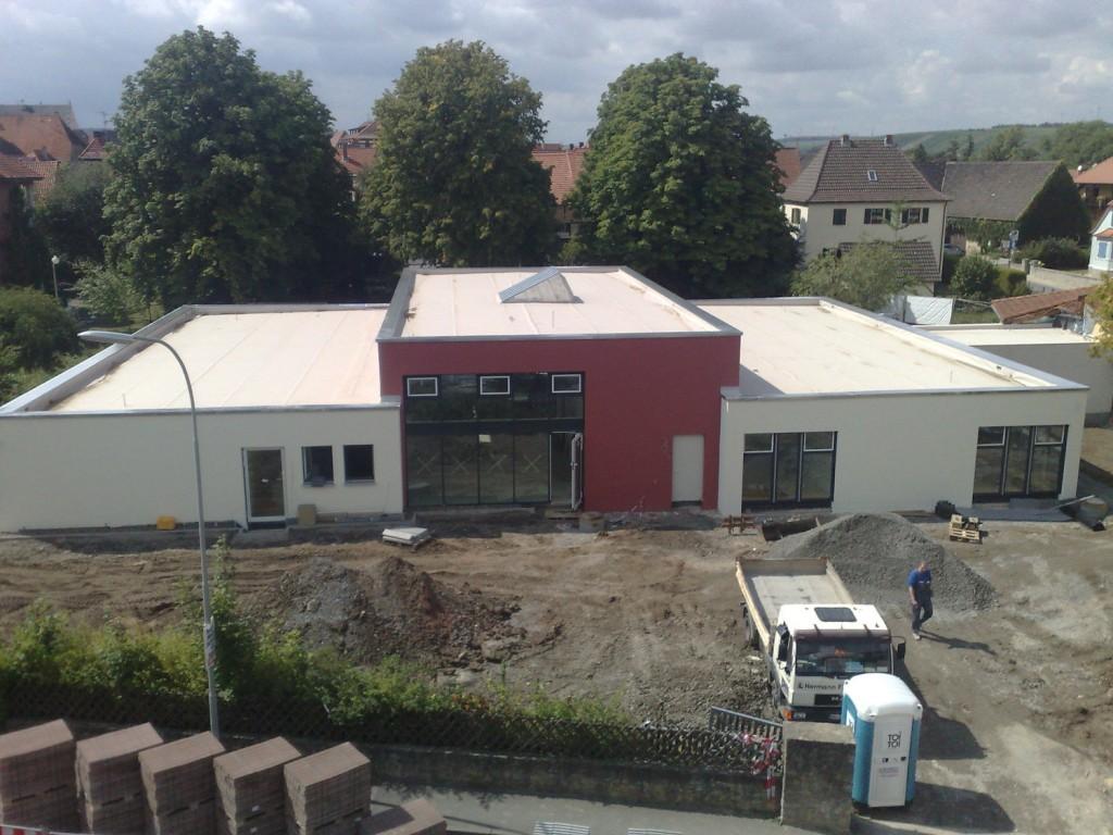 Baustelle Kiga Volkach c